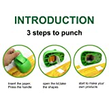 Square Punch 1.5 inch Craft Lever Punch Handmade