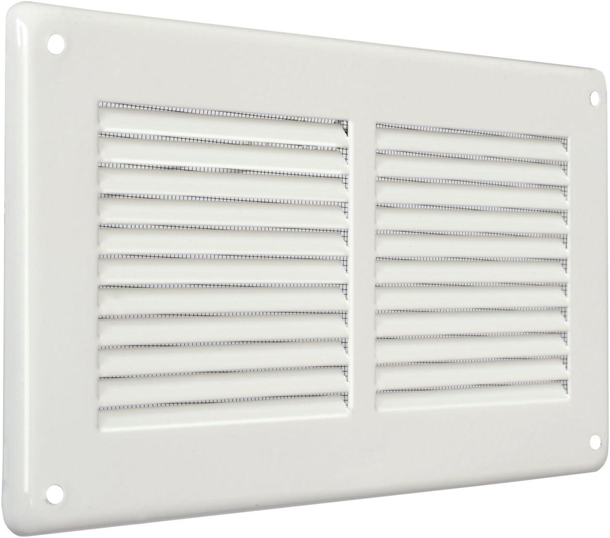 La ventilaci/ón gl20rb-y Rejilla rectangular de superponer blanco