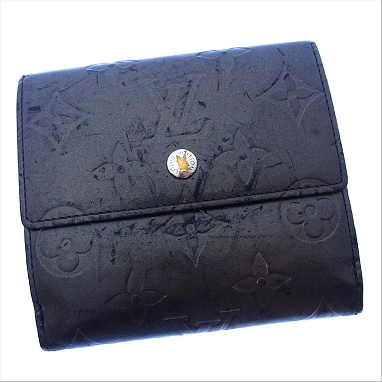 ルイヴィトン Louis Vuitton Wホック財布 二つ折り ユニセックス ポルトモネビエカルトクレディ M65112 モノグラムマット 中古 Y2370 B0772PTZTD