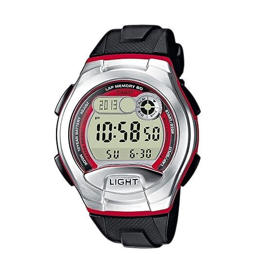 09769cbe9497 Casio Reloj Digital para Hombre de Cuarzo con Correa en Resina W-752-4BVES