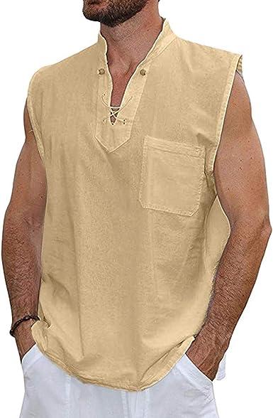 KIMODO Moda para Hombre Blusa Verano Slim Multicolor Cuello ...