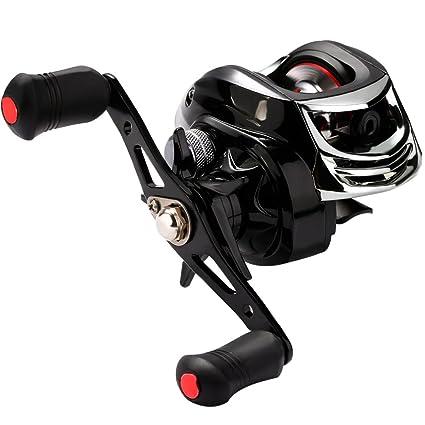 amazon com troutboy baitcasting fishing reel magnetic brake system
