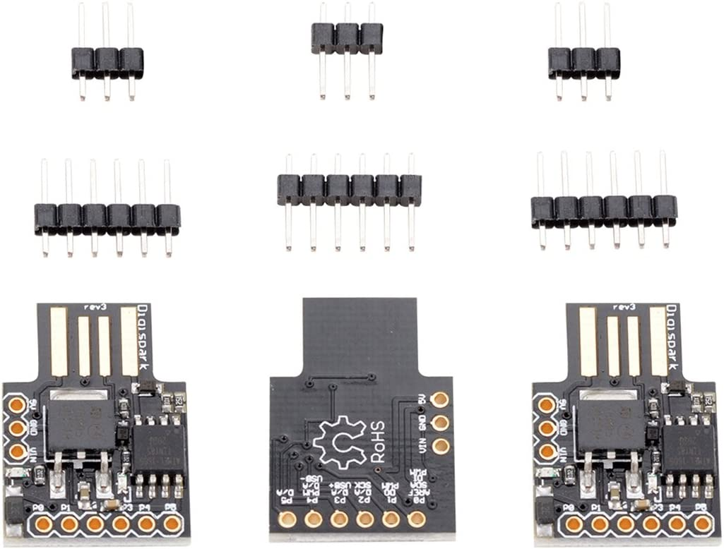 Semoic 3X Digispark Kickstarter Micro-USB Development Board for Arduino Attiny85