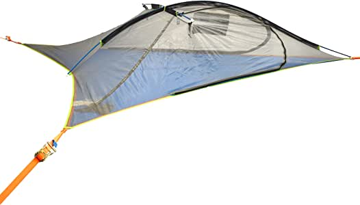 Tentsile Flite Plus - 2 Person Ultralight Backpacking Portable Tree House Tent - 4 Season, Lightweight, Couples Camping – Rainfly, Heavy Duty Straps, Stuff Sack/Dry Bag Included