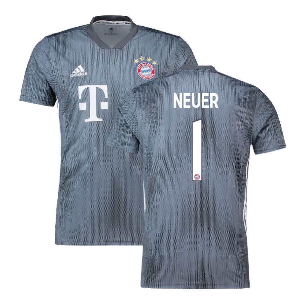 cfb7afd422b45 2018-19 Bayern Munich Third Football Soccer T-Shirt Camiseta (Manuel Neuer 1