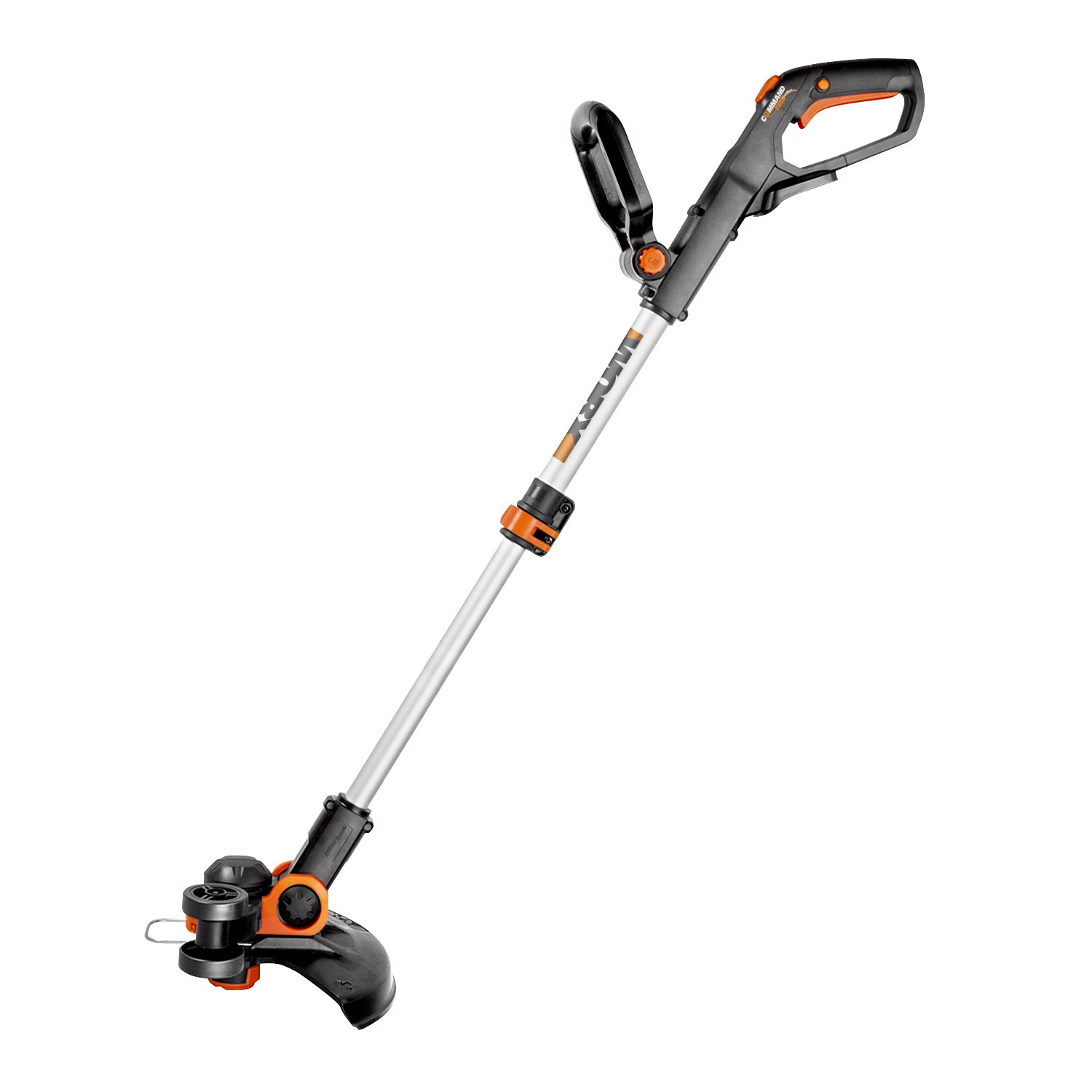 "Worx WG163 GT 3.0 20V Cordless Grass Trimmer/Edger with Command Feed, 12"", 2 Batteries and Charger Included"