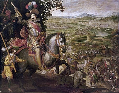 Thirty Years War 1633 Nvictory Of The Spanish Troops Led By The Duke Of Feria At The Swiss City Of Constance During The Thirty Years War 1633 Oil On Canvas By Vicente Carducho 1634 Poster Print by (1