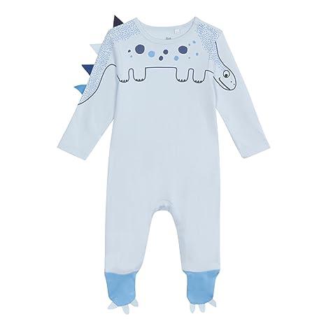 Bluezoo - Pelele para Dormir - para bebé niño Azul Azul 6-9 Meses