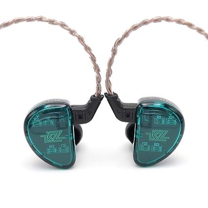 2da4202a468b LINSOUL KZ AS10 5BA HiFi Stereo in-Ear Earphone High Resolution Earbud  Headphone 0.75mm