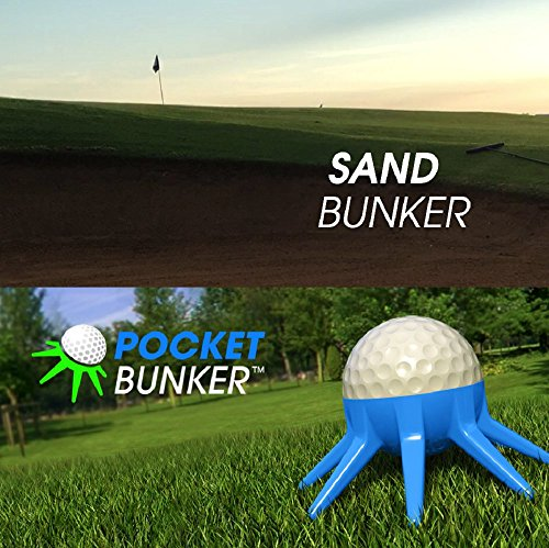 BUNKER A Golf Swing Training Tool to Practice Hitting Out of Sand