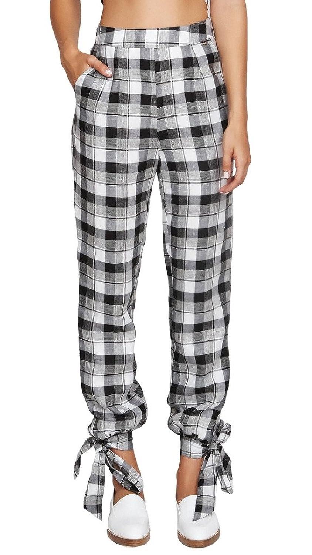 Harlyn Women's Plaid Pants