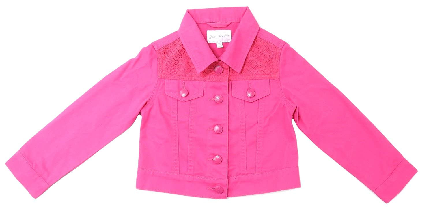 Button Down Jacket 3T//4T Jona Michelle Baby Girls Size X-Small Pink