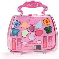 PATPAT® Princess Girls Fashion Cosmetics Pretend Make Up Set Suitcase Bag-Shaped Baby Girls Makeup Safety Tested Toy