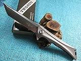 TwoSun Outdoor EDC Tool D2 TC4 Titanium Fast Open Pocket Folding Knife TS59