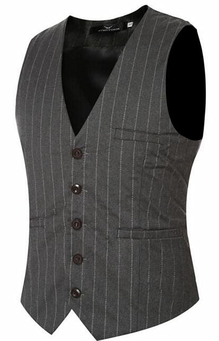 Xswsy XG Mens Waistcoat Gilet Business Gentleman Vest Suits Blazer