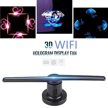 Amazon.com: Ventilador de proyector 3D con LED WiFi ...