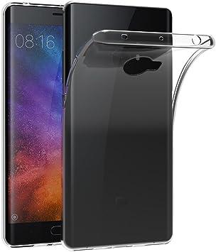 AICEK Funda Xiaomi Mi Note 2, Xiaomi Mi Note 2 Funda Transparente ...