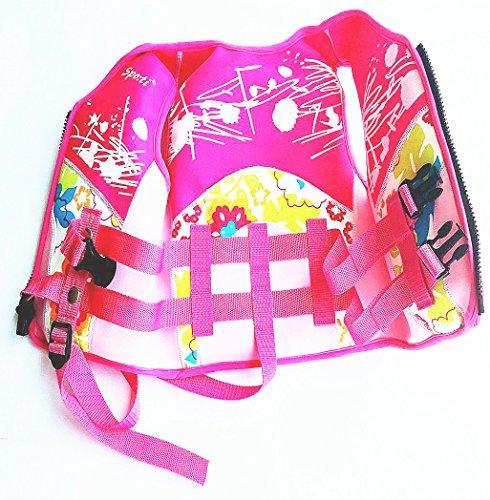 Titop Swim Vest para niños Infant Swim Trainer Chaleco para bebés Kids Chaleco Flotante Color Rosa Pequeño para niños 0-4 años: Amazon.es: Ropa y ...