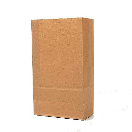 Bolsas de papel kraft para bodas, fiestas, dulces, galletas ...