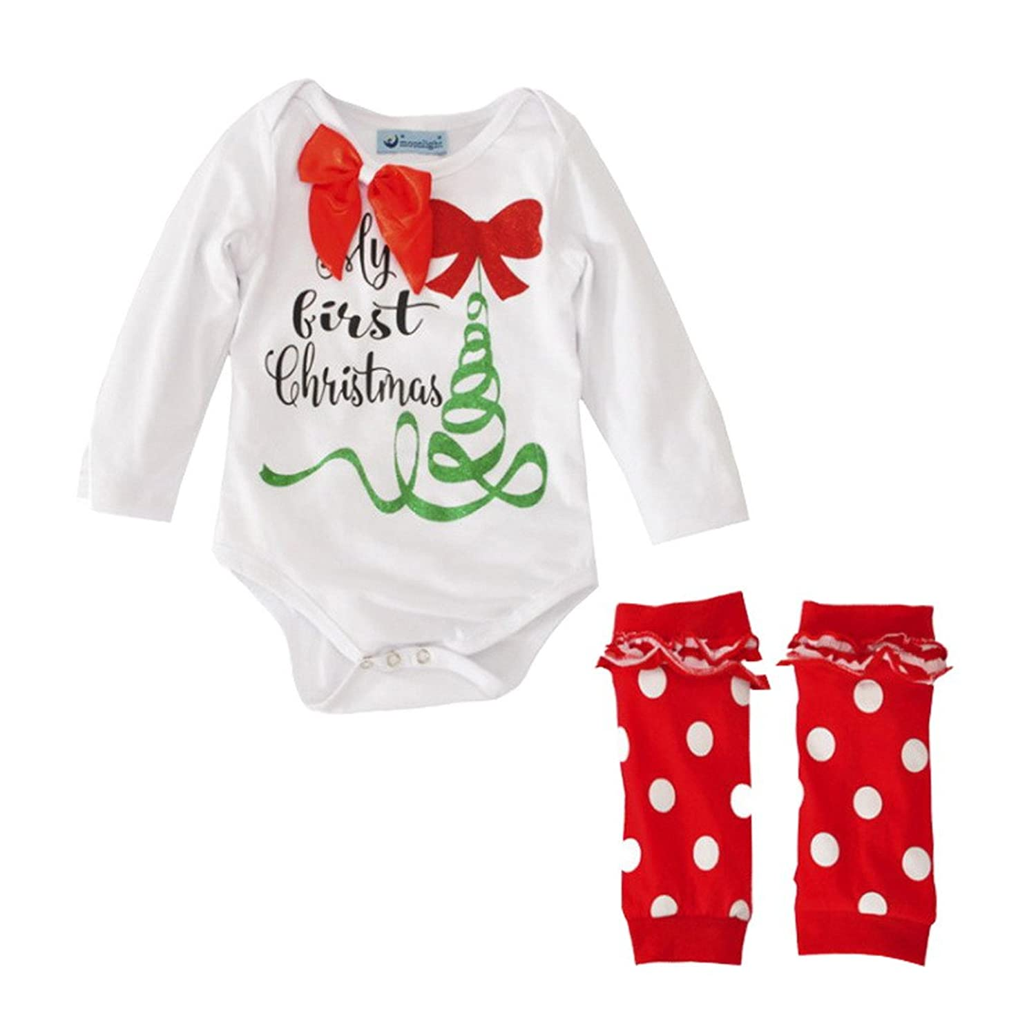 Newborn Baby Christmas Clothing Sets Leg Warmers Outfit Set good ...