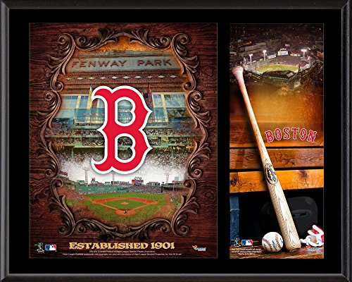 Red Sox Boston Plaque - Boston Red Sox Sublimated 12