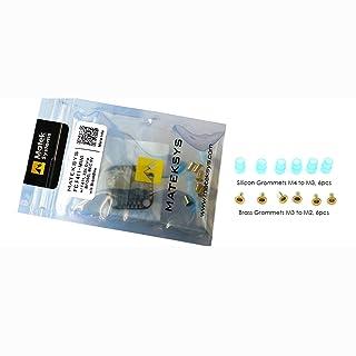 LoveOlvidoIT 20x20mm F411-mini F4 Flight Controller con AIO OSD BEC e LED Strip per RC Racing Drone Quadcopter Accessori