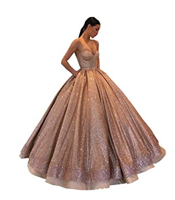 Fannydress Bling Ball Gown Prom Quinceanera Dresses with
