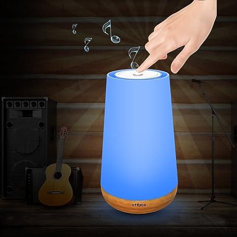 Amazon.com: Lámpara de mesita de noche & Luz Nocturna con ...