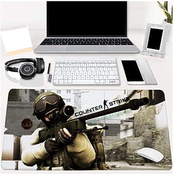 JYMYTL Alfombrillas de ratón Juego Counter-Strike Csgo700 ...