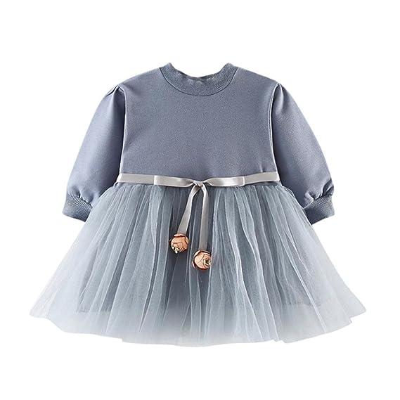 Vestido para Niñas, K-youth® Venta caliente 2018 Vestido Bebe Niña Ropa Bebe