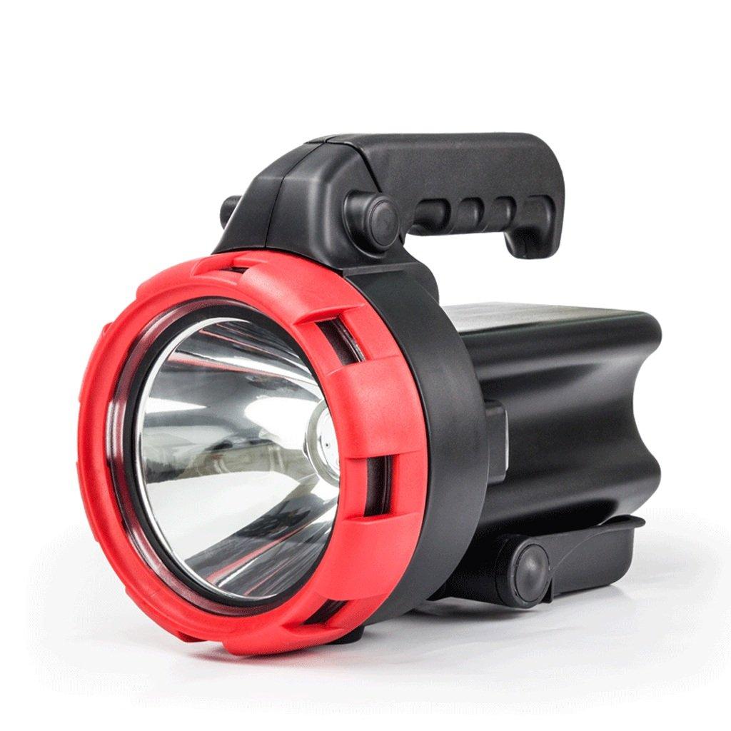 LED Taschenlampe Fernscheinwerfer Suchscheinwerfer wiederaufladbare tragbare Lampe Home Outdoor Patrol Super Bright Notlicht Suchscheinwerfer Camping Lichter