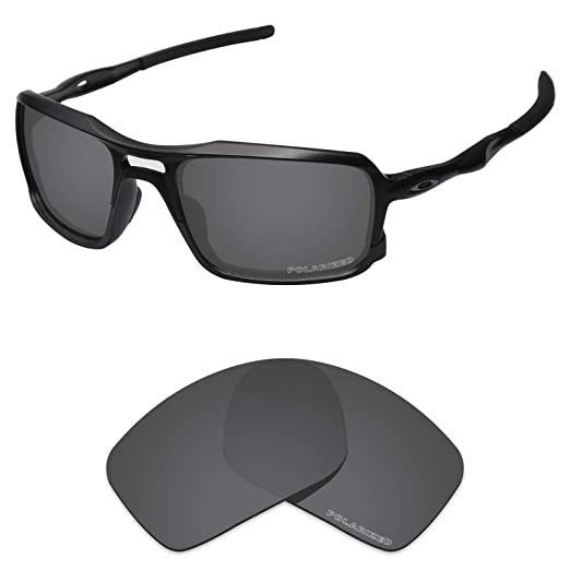 fd3a431164e16 Tintart Performance Lenses Compatible with Oakley Triggerman Polarized  Etched-Carbon Black