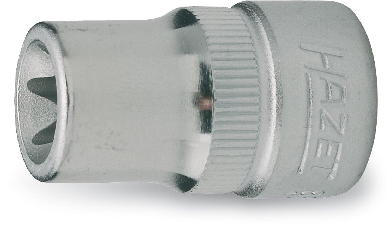 Hazet 880-E8 Douille carré creux 10 mm torx extérieur Taille E8 longueur 28 mm