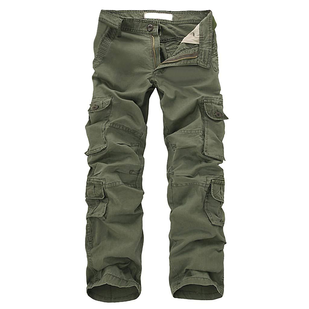 Pantalones de senderismo Militar de secado rápido al aire Libre para Hombres Army Green