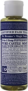 product image for Dr. Bronner's Liquid Soap, Magic All One Pure Castile, Peppermint 18 In 1, 4 Fluid Ounce