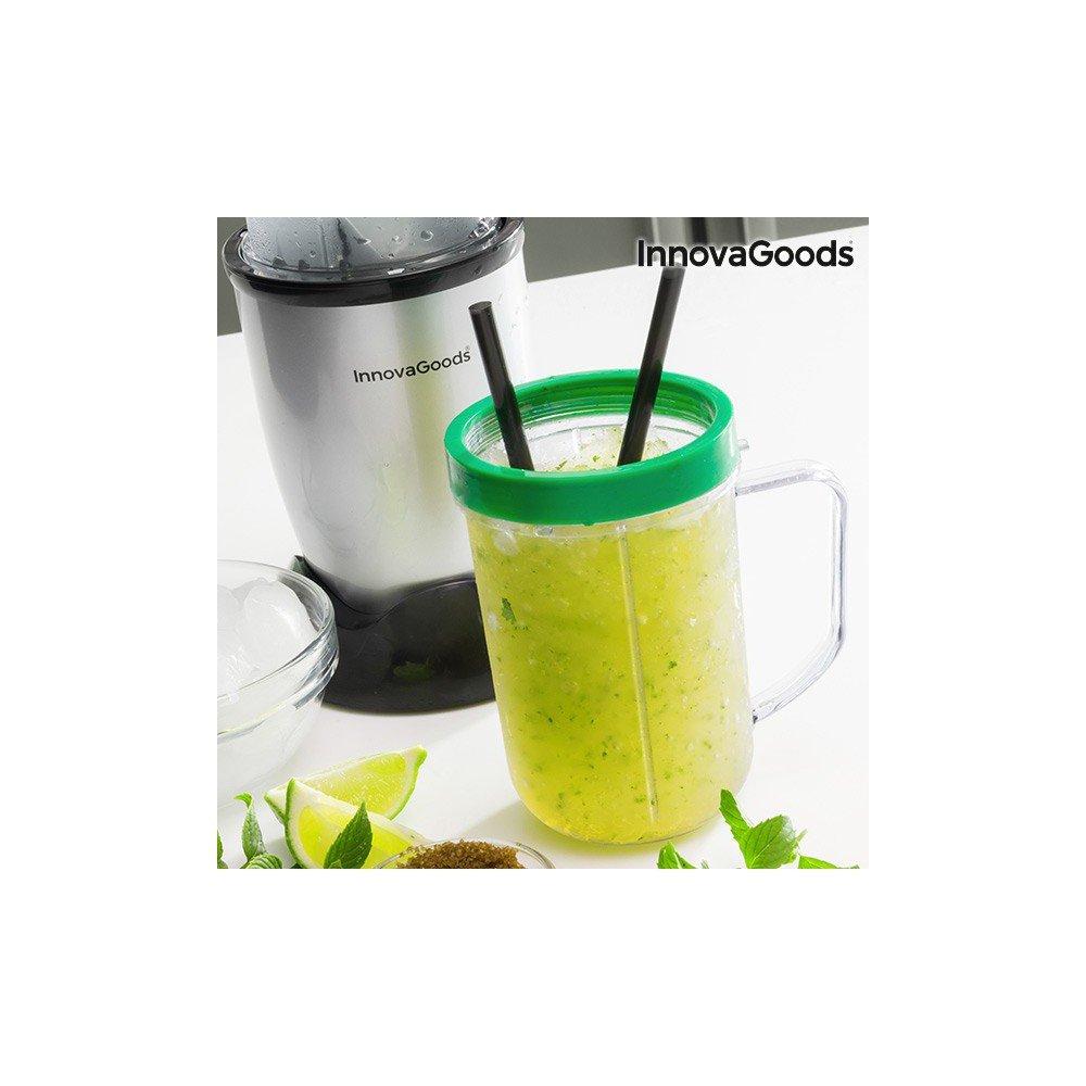 InnovaGoods IG114765 Licuadora batidora de vaso 250 W, Gris: Amazon.es: Hogar