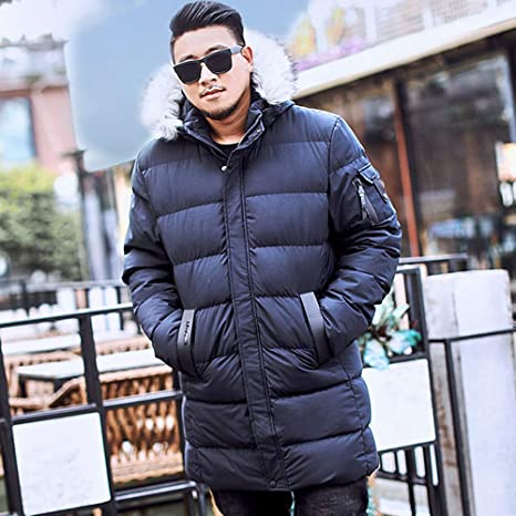 WOCACHI Mens Plus Size Down Jackets Long Coat Parka Detachable Hooded Outerwear at Amazon Mens Clothing store: