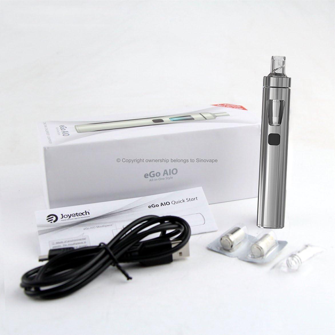 Joyetech eGo AIO (All-In-One) Kit de Inicio/E-Cigarette - Batería Recargable de 1500mAh, 2 ml