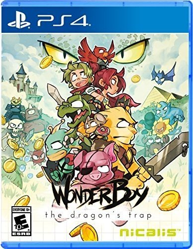 Wonder Boy: The Dragon's Trap - PlayStation 4 (Best Dungeons And Dragons Pc Game)