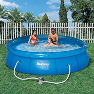 Bestway 90084 fast set pool 3 meter diameter swimming pool and spa parts and for Swimming pools target australia