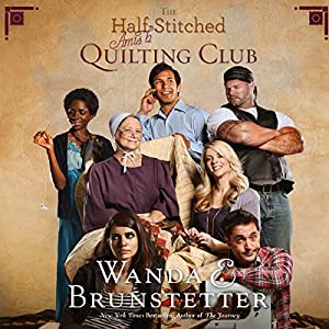 The Half-Stitched Amish Quilting Club Audiobook