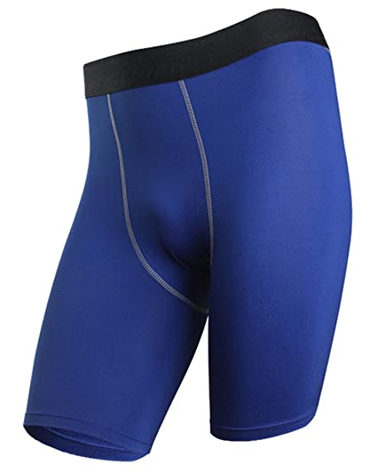 Moollyfox Pantalones Cortos De Fitness Ropa Interior Deportiva para Hombre Azul S