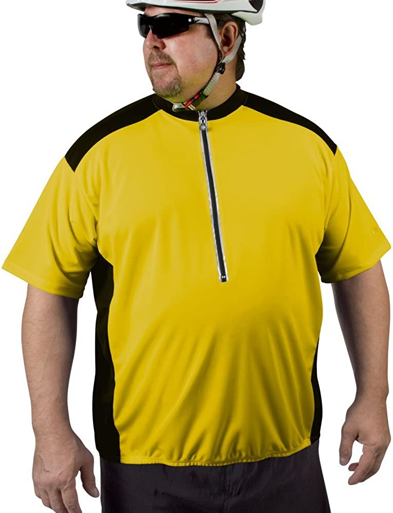 Loose Fitting Made in U.S.A Biking Riding ATD Big Man Colossal Cycling Jersey