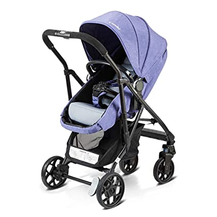 a20b0ee59 XUE Cochecito de bebé Infantil para recién Nacido y niño-Convertible Cuna  Cochecito Compacto Solo