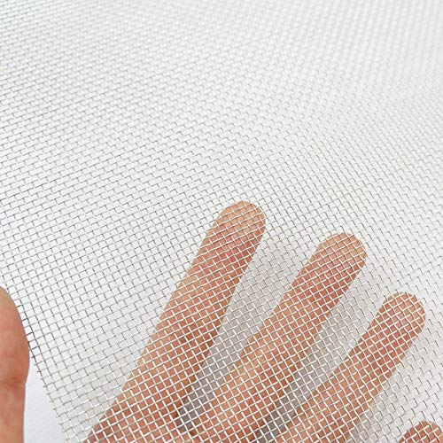 TIMESETL 304 Stainless Steel Woven Wire 8 Mesh - 12
