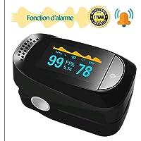 beseloa Oxymetre de Pouls Oxymetre de Doigt avec L'affichage d'OLED