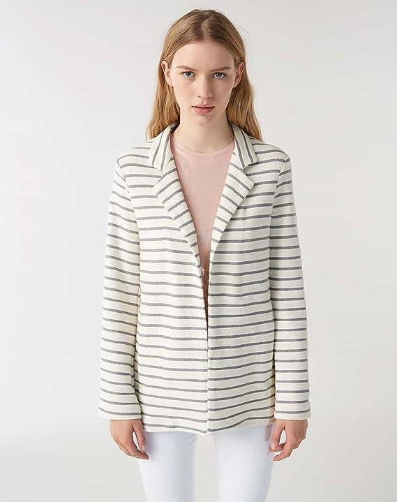 TALLA L. Sisley Jacket Chaqueta para Mujer