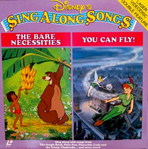 Sing Along Songs - The Bare Necessities / You Can Fly 12