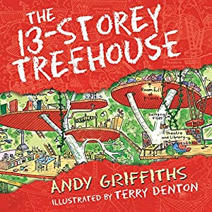 The 13-Storey Treehouse Audiobook