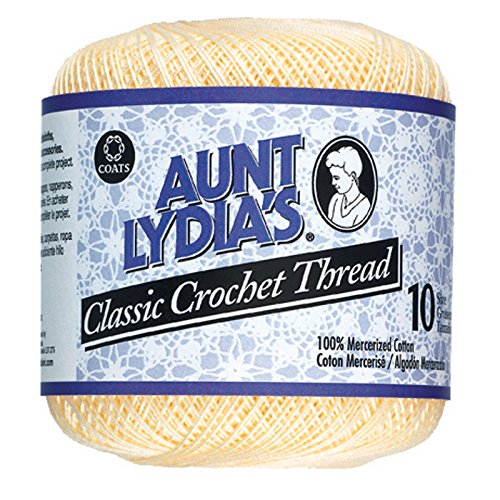 South Maid Crochet Cotton Thread Size 10-Cream